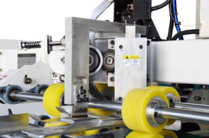 Servocontrol semiautomática máquina de costura de cartón corrugado