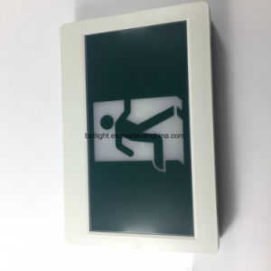 UL CSA recargable lista Hombre corriendo a la señal de salida de emergencia LED adorno