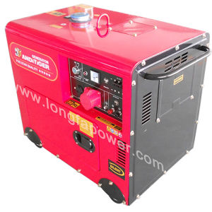 ホーム使用のためのスタンバイ5kVA 4kw無声Desielエンジンの発電機