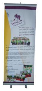 El Equipo de exposición Light-Weight Banner Display Roll up Stand para la promoción de publicidad