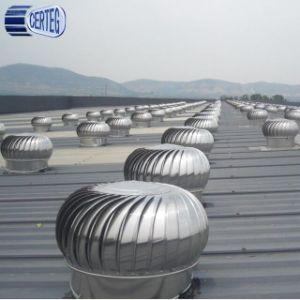 Turbina de respiros do teto/Ss Ventiladores da turbina