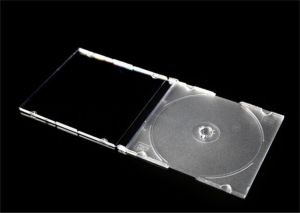 カラー皿と細いCD DVDボックスCD DVDカバーCD DVD箱5.2mm