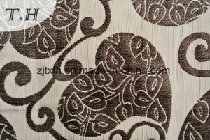 Tessuto del sofà del jacquard con il reticolo di amore ed il disegno del cotone di miscela
