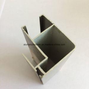 Quadrato, profilo rotondo e differente dell'espulsione della lega di alluminio per il portello e tubo 40 della finestra