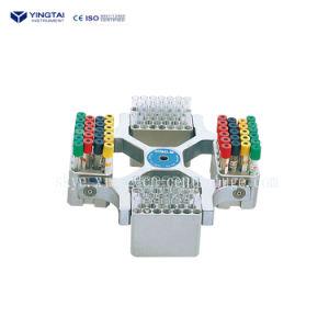 Cer, Laborkrankenhaus-Zentrifuge des ISO-9001 anerkannte Tisch-5000rpm oberste langsame 32 der Gefäß-10/7/5ml
