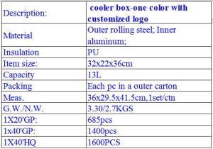 Walzen-im Freien beweglicher Aluminiumkühlvorrichtung-Gefriermaschine-Stahlkasten