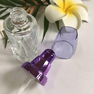 30mlは取り除く化粧品(PPC-GB-014)のためのAlumiteポンプを搭載するガラスビンを