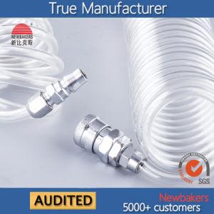 La manguera hidráulica neumática de la bobina de la manguera del tubo de aire PU (KS-1065-9M) Transparente