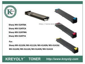 Toner der Farben-MX-51 für scharfes Mx4110n/Mx4111n/Mx5110n/Mx5111n/Mx5112n