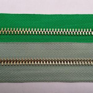 Nr van uitstekende kwaliteit 5 de Lange Ketting van de Ritssluiting van het Metaal van de Ritssluiting van het Messing