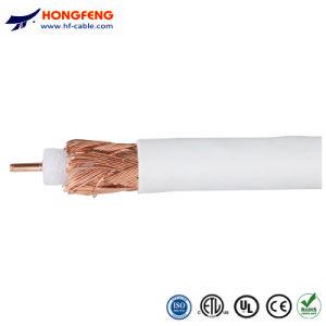 De Coaxiale Kabel van het Schild van de Vierling van de Levering van de fabriek RG6