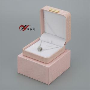 لون قرنفل [بو] جلد مجوهرات [جفت بوإكس] يثبت لأنّ عقد حلقة سوار سوار ومدلّاة