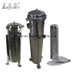 HochdruckBeutelfilter-Gehäuse des sS-316 Edelstahl-304 für Nahrung und Getränk