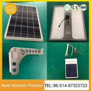 リチウム電池が付いている情報処理機能をもった10W太陽庭ライト