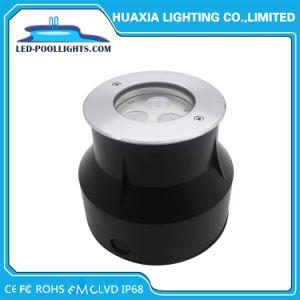 IP67 y IP68 3W piscina empotrada de Metro de luz LED de iluminación (HX-HUG118-3W)
