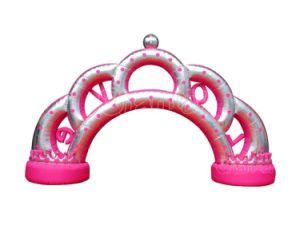 De aangepaste Opblaasbare Boog van de Ingang van het Huwelijk/de Opblaasbare Boog van de Liefde voor Gebeurtenis Chad1041