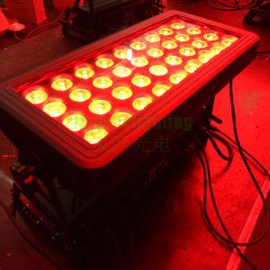36X10WドアRGBW 4in1都市カラーLED壁の洗浄ライト