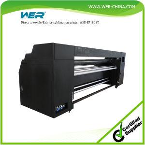 Barata y buena calidad máquina de impresión directa de tela sublimación Wer-E1802T