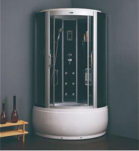 6 tamaños para las opciones plato de ducha de alta sala de vapor Gabinete Gabinete