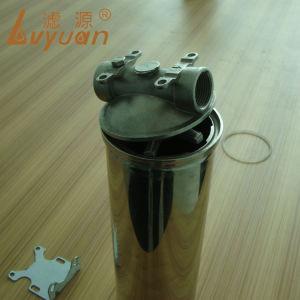 Grau alimentício do alojamento do filtro de aço inoxidável para o produto químico