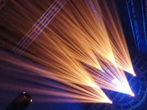 段階の照明のための260W点の移動ヘッドライト