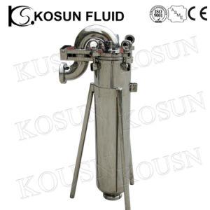 5 10 20 polegadas Código 7 Ss de alta pressão RO Único Vinho Líquido de aço inoxidável de óleo e água Cartucho Lenticular Saco de ar da caixa do filtro magnético