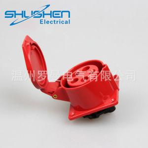 Nuovo zoccolo elettrico impermeabile industriale obliquo di 3p 16A IP44