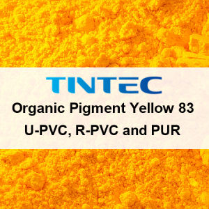 U-PVC、R-PVCおよびPURのための有機性顔料の黄色83