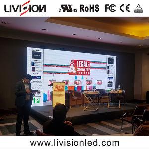 Affichage LED de rafraîchissement élevé P3.9 Panneau intérieur mur vidéo LED