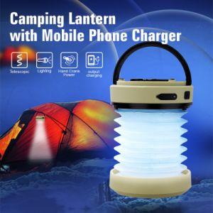 Recargables USB+Manivela Camping LÁMPARA DE LED