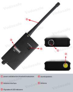 Vs007A HF-Signal-Detektor für drahtloser Hahn-Detektor verdrahteten Kamera-Programmfehler-Handy-Kameraobjektiv-Fühler-Scanner Anti-Spion