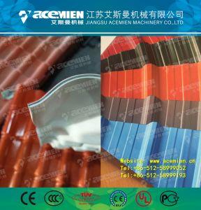 Quattro macchina ondulata composita delle mattonelle di tetto di strato PVC+ASA