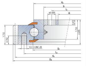 Herumdrehenring externes gezahntes 91-20-0841/0-37152 der IMO-Serien-920
