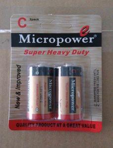 Batterie der Mikroleistungs-Superhochleistungsgrößen-C/Lr14
