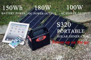 Chargeur solaire Smart Mini Générateur Solaire Avec Batterie Au Lithium