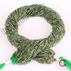 4a8054b4c2bf La Joyería de piedras preciosas sueltas Strand africanos de 2mm verde  natural de piedra de Jade