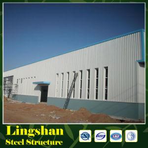Estructura de acero constructiva de la fábrica prefabricada del 9001:2008 de la ISO