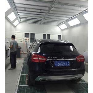 Авто для покраски автомобиля с помощью подъемных внутри