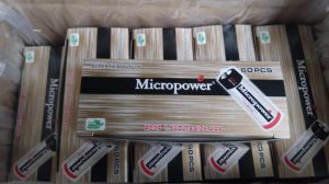 Mikroleistungmercury-freie Kohlenstoff-Zink-Batterie AAA 1.5V Um4