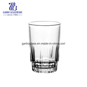 Hotsale 140ml vaso de zumo de vidrio de taza de leche de la copa de agua potable