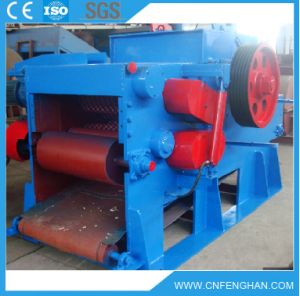 18-20t / H Máquina eléctrica de madera del registro Tambor Astilladora en Venta