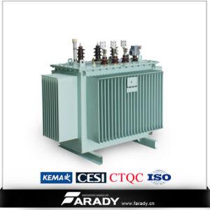 Transformateur de distribution d'énergie hermétique à joint vertical de 11kv 33kv 200kVA