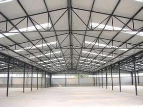 Estructura de acero de la luz de Carport/almacén o taller (SP-0023)