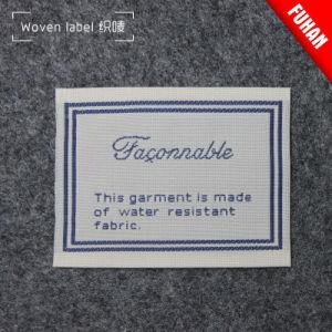 84223317187c Contrassegno principale tessuto personalizzato di formato del contrassegno  dei contrassegni per i vestiti del bambino