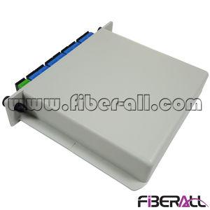 PLC van het Type van Gpon Lgx van Epon 1X8 de Splitser van de Optische Vezel