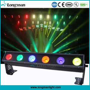 LED de exterior Blinder 6*25W Rgbaw LED bañador de pared para la etapa