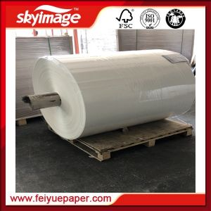 Промышленные сверхлегкий 45g Jumbo Frames рулон бумаги сублимации красителей для цифровой печати