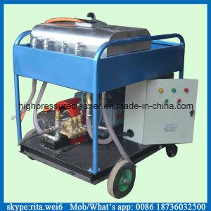 La ruggine rimuove l'apparecchio a getto di sabbia bagnato ad alta pressione della macchina di pulizia