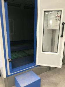 Автоматический режим выпечки окраска печь Downdraft аэрозольная краска стенд для автомобиля