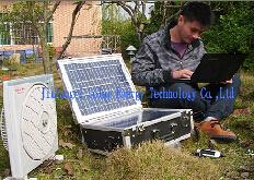 Beweglicher Solargenerator (JLR-300A)